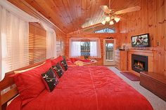 A New Beginning is a cabin rental in Pigeon Forge, TN.  This perfect cabin is located just minutes from Dollywood. This 1 bedroom cabin has everything you need.  The king master suite boasts a fireplace and heart shaped jacuzzi tub. The cabin also has a pool table, hot tub, and two fireplaces. Located in a resort with a indoor pool for you to enjoy year round. Perfect for newlyweds to start A New Beginning!!