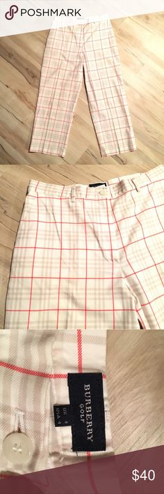 Burberry Golf Pants Burberry Golf Pants! So comfortable and cute Burberry Pants