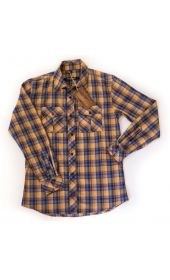 Bullet Blues Patton November Button UP Shirt Made in USA