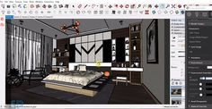 This is an excellent video tutorial for sketchup vray users. The tutorial briefly explains how to use v-ray 3.4 in sketchup 2017 along with photoshop to perform interior rendering of a bedroom.