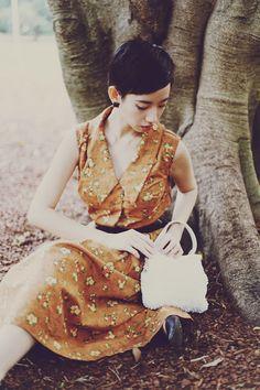 NoraFinds   Vintage Fashion Blogger Sydney   DIY Sewing 1964 dress