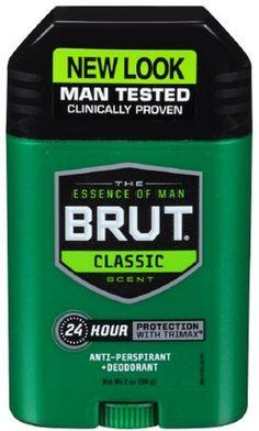 Brut Anti-Perspirant Deodorant Stick Classic Scent 2 oz