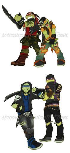 Cool turtles