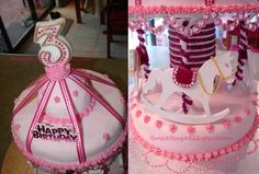 The Quick Unpick: Beautiful Birthday Cakes - Princesses, a castle and a carousel!