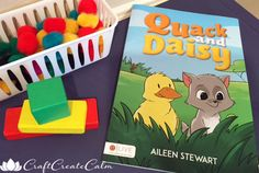 Kid's book Quack and Daisy. Story for children.