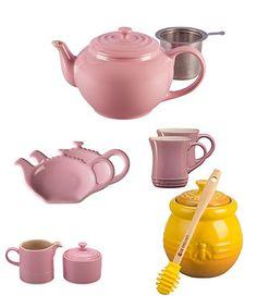 Pink Teapot Set