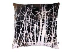 Handmade Velvet Thorn Print Cushion from maxandrosie.co.uk