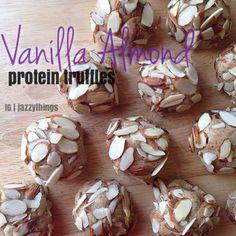 Vanilla Protein Truffles