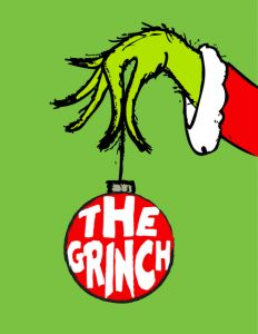thegrinch_01 the grinch free art printable subway frugal gift idea cheap frame christmas holiday teacher