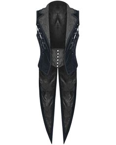 Punk Rave Mens Vest Waistcoat Tailcoat Blue Velvet Gothic Steampunk Regency VTG in Clothes, Shoes & Accessories, Men's Clothing, Waistcoats   eBay