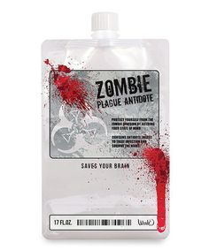 Look at this Wild Eye Designs 'Zombie Antidote' Disposible Flask on today! Zombie Plague, Zombie Princess, Zombie Eyes, Zombie Gifts, Zombie Dolls, Scary Witch, Wild Eyes, Zombie Apocalypse, Save Yourself