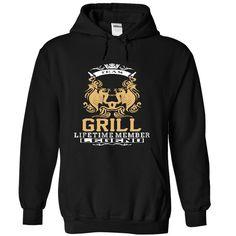 GRILL Team GRILL Lifetime Member Legend T-Shirts, Hoodies. GET IT ==► https://www.sunfrog.com/LifeStyle/GRILL-Team-GRILL-Lifetime-member-Legend--T-Shirt-Hoodie-Hoodies-YearName-Birthday-7359-Black-Hoodie.html?id=41382