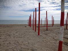 Roquetas beach - end of the season