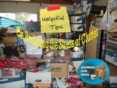 Need helpful hints on reducing on hoarding stress? Find out more here