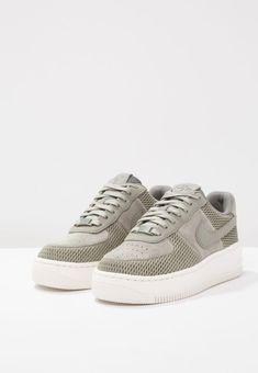 fa931af4113f AIR FORCE 1 UPSTEP PRM - Sneaker low - dark stucco ivory Nike Sportswear