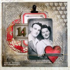 yaya scrap & more: SIMON MONDAY CHALLENGE: LOVE IS IN THE AIR+ USE RED