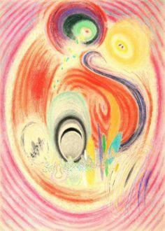 Karel Malich: bez názvu / 1997 pastel, papír / 102 x 73 cm / cena: 192 000 Kč
