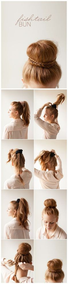 14 Tutoriales de peinados que debes probar esta primavera ⋮ Es la moda