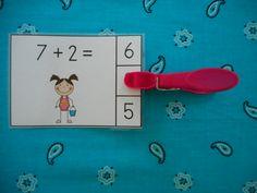 Beach Buddies Addition Math Centers Sums to 10 First Grade Activities, Summer Activities, Math Activities, Math Stations, Math Centers, Elementary Math, Kindergarten Math, Math Folders, Mastering Math