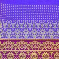 Stoff Überwurf Polyester Decke Tischtuch 1x2m violett gold