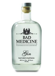 Panther Distillery's bad medicine Gin