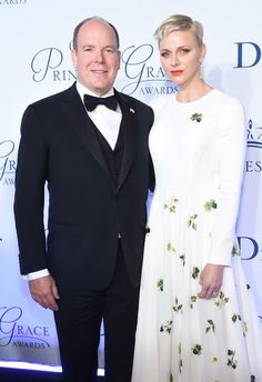 Charlene Wittstock Photos Photos - His Serene Highness Prince Albert II of Monaco and Her Serene Highness Princess Charlene of Monaco attend the 2016 Princess Grace awards gala at Cipriani 25 Broadway on October 24, 2016 in New York City. - 2016 Princess Grace Awards Gala