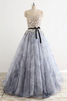 842559bcd0 Cute floral chiffon 3D flower appliqués long halter evening dresses with  beading Cheap Prom Dresses
