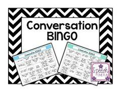 Conversation BINGO -