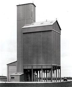 Bernd & Hilla Becher, Grain Elevator, Oberentzen, Guebwiller, France, 1989
