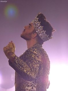 Prince Adam Lambert from Manchester show - 2015