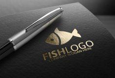Fish Logo by Josuf Media on @creativemarket