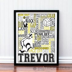 Water Polo Personalized Print - PrintChicks