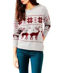 Cute sweater for cold winter days.