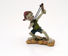 A goblin's name: Slingshot pixies  Size: 15 x 11 cm