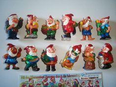 Kinder Surprise Set  Seasons Garden Dwarfs by KinderSurpriseToys