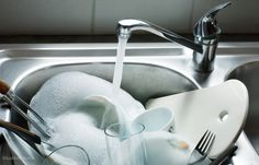 Are you still hand washing dishes each day? Advanced Water Solutions goes over how an energy efficient dishwasher and filtered water saves time and money! Kitchen Sink Design, Water Solutions, Washing Dishes, Water Conservation, Save Water, Hand Washing, The Dish, How To Stay Healthy, Healthy Life