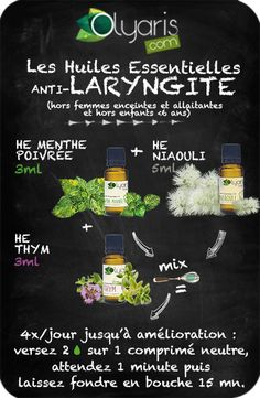 Laryngitis and Important Oils: the pure and efficient answer Good To Know, Feel Good, Naturopathy, Herbal Remedies, Body Care, Herbalism, Essential Oils, About Me Blog, Solution