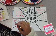Cute and easy 100th day ideas!