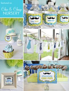 Great Idea For A 1st Birthday Party Theme Boy Baby Shower Parties