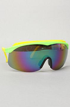 80s style ski goggle glasses