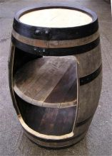 Triple stack Display barrel rustic