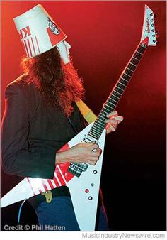 Ambient Deviant Speedmetal Polka Chapter 4 – First, They Laughed: A Big Bad Blast of Buckethead (image credit: Phil Hatten)