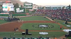 April 1, 2016 - Opening Day at Estadio Gasmart, the home of the Toros de Tijuana of the AAA Mexican League.