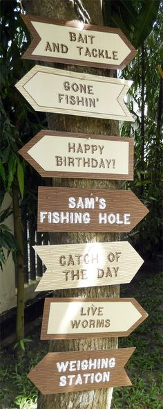 fishing birthday party decorations | FISHING Invitation & Printable Birthday Party Decorations