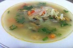 Receta: Sopa de mariscos