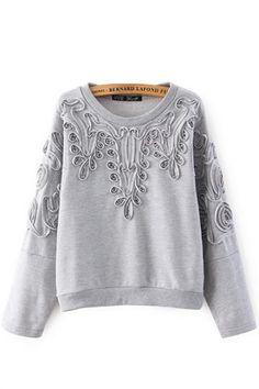 Patterned #sweatshirt #fashion