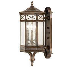 Check out the deal on Fine Art Lamps 837481 Holland Park Antique Bronze Outdoor Wall Sconce at Littman Bros. Lighting