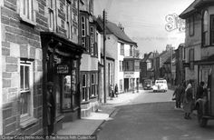 Penryn, Lower Street c.1955, from Francis Frith