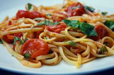 Nikki Dinki Cooking - Home - Burst TomatoPasta
