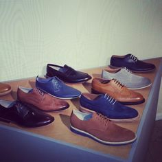 #ss15 mens shoes from the clarks press day #brogues #leather